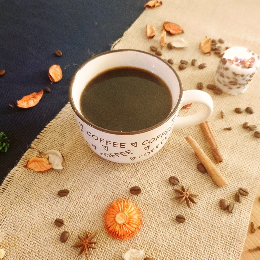 The coffee is ready to drink. You can drink it as  it is, or with milk, in both ways you have a delicious coffee drink to enjoy.